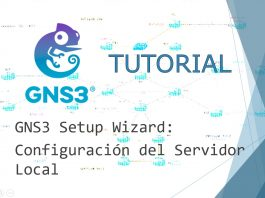 GNS3 Tutorial Servidor Local