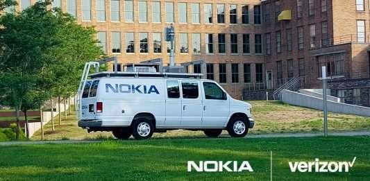 Verizon y Nokia 5G NR