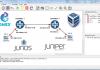 GNS3 Junos Juniper Olive VirtualBox