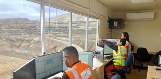 COSAPI Minería adopta la digitalización en sus trabajos de minería en el yacimiento de hierro de Shougang